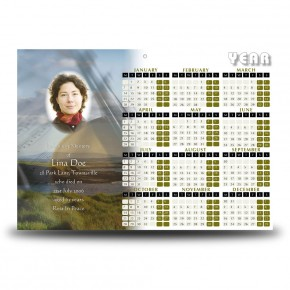 Mullaghmore Co Sligo Calendar Single Page
