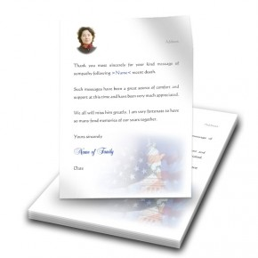 Statue of Liberty Thank You Letter