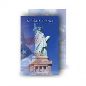 Statue of Liberty Wallet Card