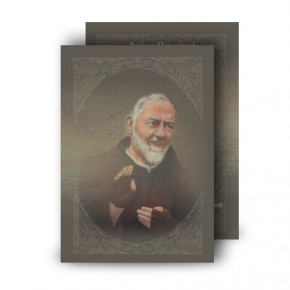 Padre Pio Standard Memorial Card
