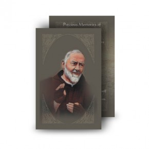 Padre Pio Wallet Card