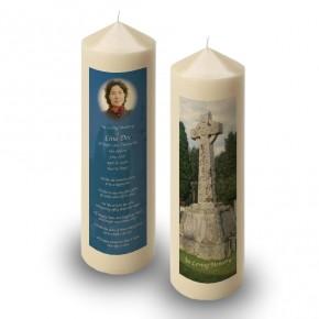 Celtic Church Candle