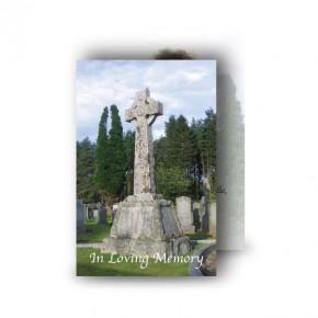 Celtic Church Wallet Card