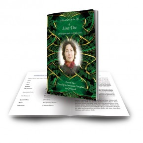 Celtic Tribal Funeral Book
