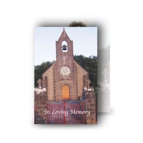Church Bell Monea Co Fermanagh Wallet Card