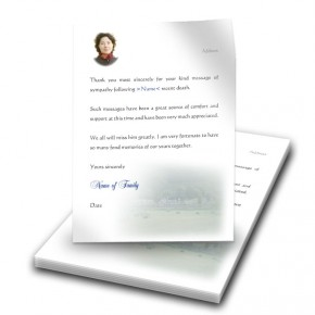 Bailing Thank You Letter