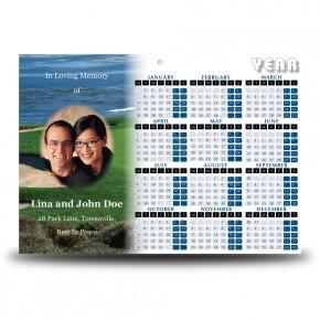 St Andrews Scotland Calendar Single Page