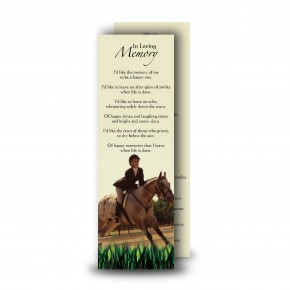 Showjumping Bookmarker