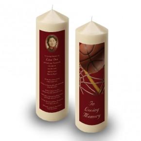 Basketball Candle