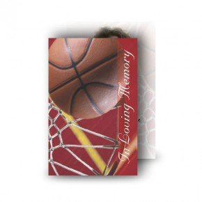 Basketball Wallet Card