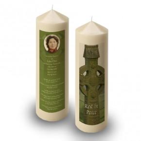 Irish Celtic Candle