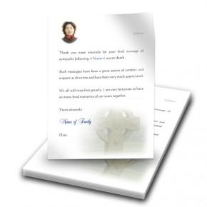 Irish Celtic Thank You Letter