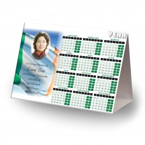 Irish Flag Calendar Tent