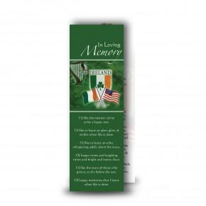 Irish American Bookmarker