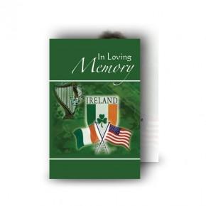 Irish American Wallet Card