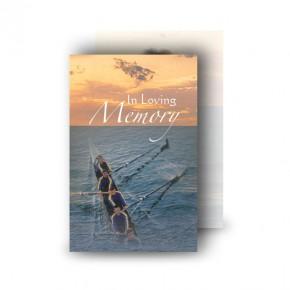 Rowing Wallet Card
