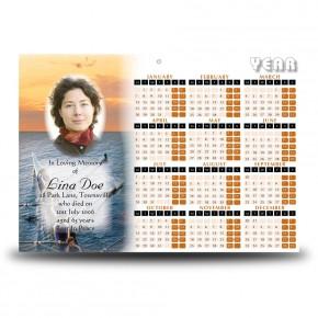 Rowing Calendar Single Page
