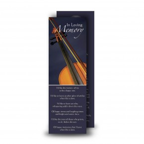 Violin Bookmarker