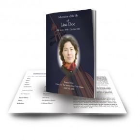 Violin Funeral Book