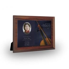 Violin Plaque