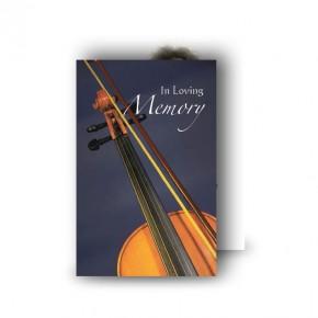 Violin Wallet Card