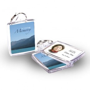 Scenic Mountains The Rockies Canada Keyring