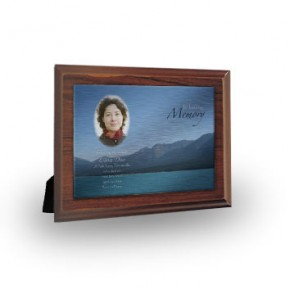 Scenic Mountains The Rockies Canada Plaque
