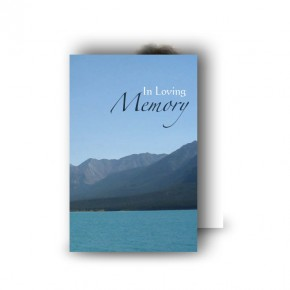 Scenic Mountains The Rockies Canada Wallet Card