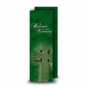 Irish Celtic Cross Bookmarker