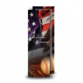 USA Baseball Bookmarker