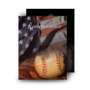 USA Baseball Standard Memorial Card