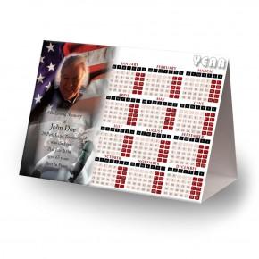 USA Football Calendar Tent