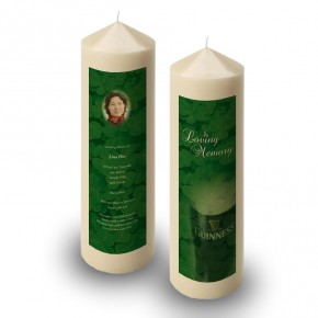 An Irish Toast To Remember Candle