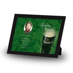 An Irish Toast To Remember Framed Memory
