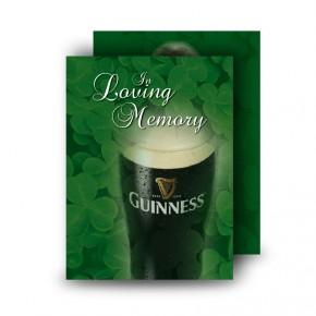 An Irish Toast To Remember Standard Memorial Card