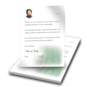 An Irish Toast To Remember Thank You Letter
