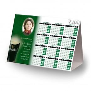 An Irish Toast To Remember Calendar Tent