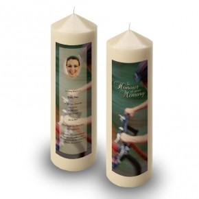 Mountain Biking Candle