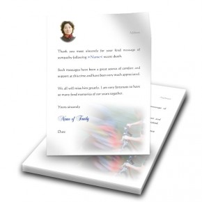 Mountain Biking Thank You Letter