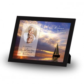Sunset Sailing Framed Memory