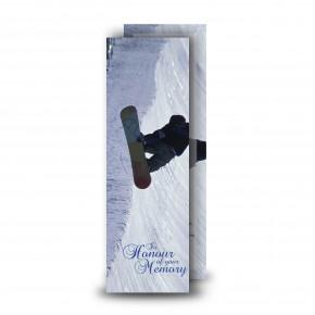 Snowboarding Bookmarker