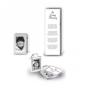 Black and white border Pocket Package