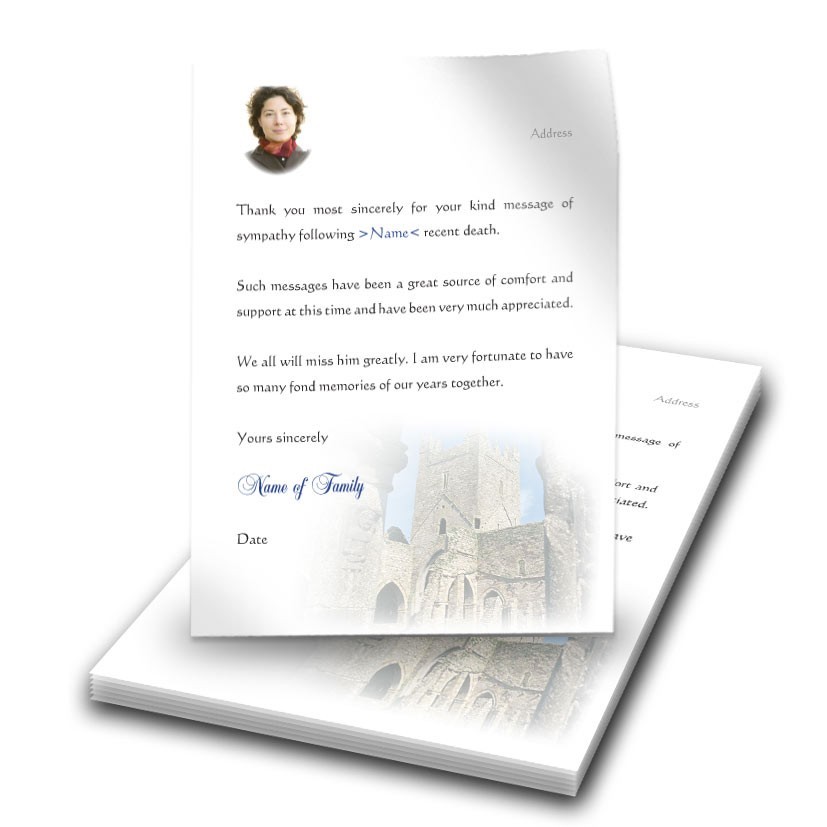 An Old English Monastery Thank You Letter Thal 0014