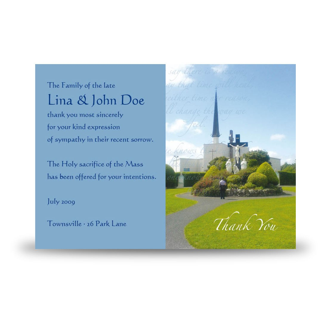 Knock Shrine Mayo No. 1 | Acknowledgement Card (AckS-0197)