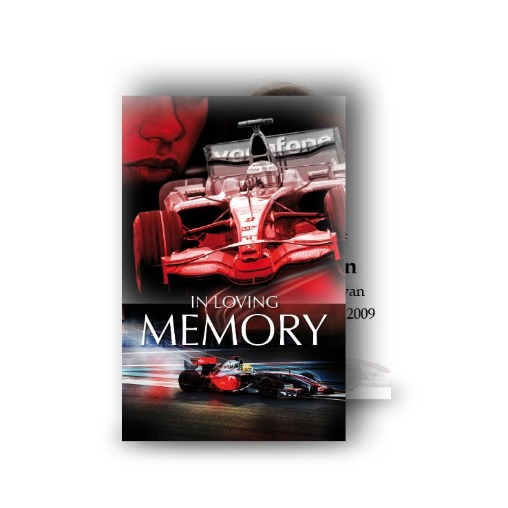Formula One Wallet Card Walt 0214