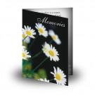 DaisiesFolded Memorial Card