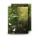 God's Heavenly GardenStandard Memorial Card
