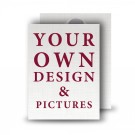 - Your Design Here -Standard Memorial Card