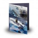 NavyFolded Memorial Card