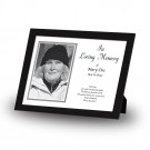 Black and white border No 2Framed Memory